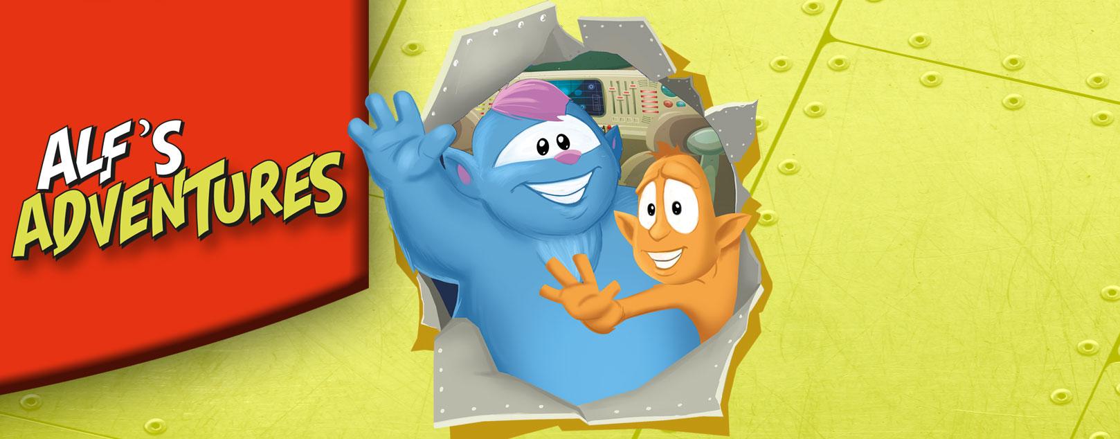 Alf's Adventures - Η πρώτη σειρά βιβλίων της ΕΥΡΩΓΝΩΣΗ για την ΕJ2 αποκλειστικά για τους μαθητές μας.